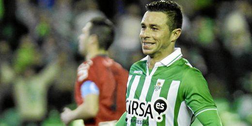 Rubén Castro igualó anoche los goles de Negredo y Soldado.