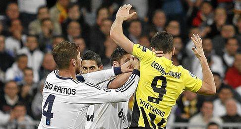 Florentino se reunió con Lewandowski.