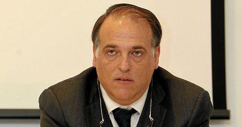 Javier Tebas , presidente de la Liga de Fútbol Profesional.