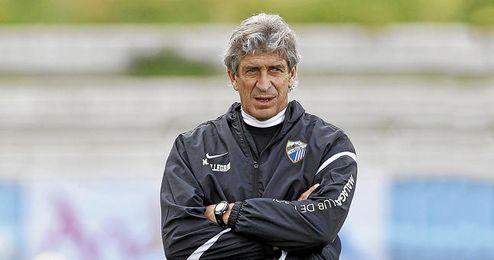 Imagen de Pellegrini durante un entrenamiento.