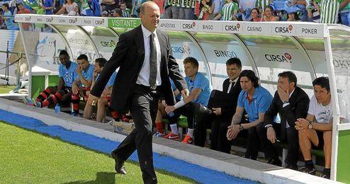 """Pepe Mel considera que la temporada a estas alturas """"es un exitazo"""" para el Betis."""