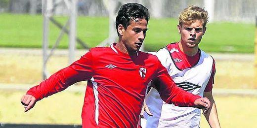 Ahmed Refaat se ejercitó el pasado lunes con el primer equipo y el resto de la semana trabajó con el filial.