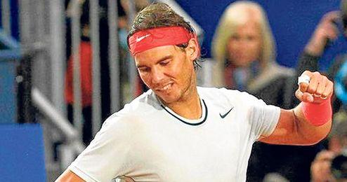 No se cruzará con Djokovic o Federer hasta las semifinales.