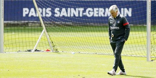 "Ancelotti: ""Las cosas están como la semana pasada"""