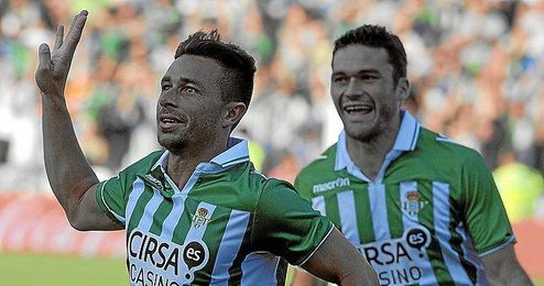 Rubén Castro ha anotado uno de los cuatro goles del partido.