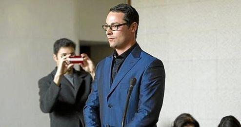 Imagen de Pistorius durante el juicio por la muerte de su novia.