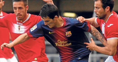 A Luis Alberto le seduce la idea de seguir en el Barça, pero también la de volver a Nervión.