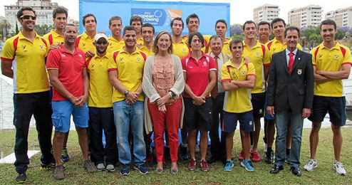 Sevilla acoge los Campeonatos de Europa de Remo 2013.