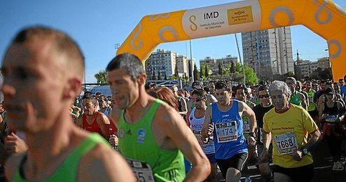 La Carrera Popular Parque de María tendrá lugar en la mañana del próximo domingo.