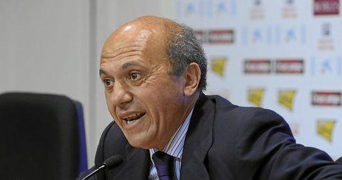 El máximo dirigente sevillista, José María del Nido.