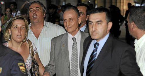 Imagen de archivo de Lopera saliendo de los juzgados.