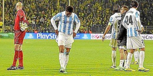 El Málaga no podrá volver a disputar este año competición europea tras el fallo del TAS que ratifica la sanción de la UEFA.
