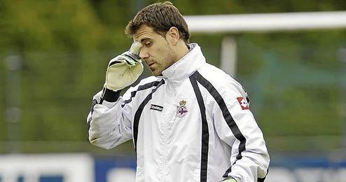 Dani Aranzubia es un posible objetivo del Betis para este verano.