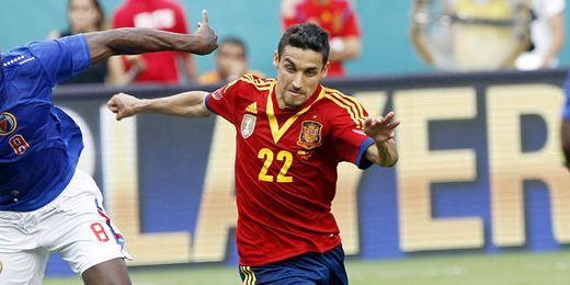 Navas se encuentra concentrado con la selección española en EE.UU.