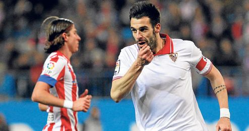 En nervión no tienen ninguna oferta del Atlético por Negredo.