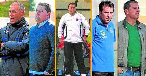 ´Lili´ Rivero, Manuel Crespo, José Manuel Borja y Toni León podrían relevar a Manolo Luque en el banquillo de la entidad loreña la próxima temporada.