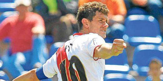 Piti ha anotado 18 goles esta temporada con el Rayo Vallecano.