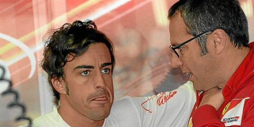 Domenicali conversa con Alonso