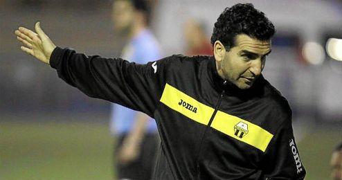 Manolo Corona, entrenador del Mosqueo.