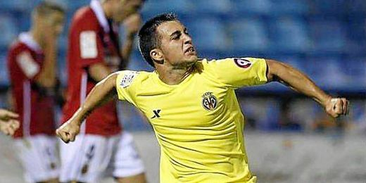 El ex del Villarreal viene con muchas ganas de hacer muchos goles.