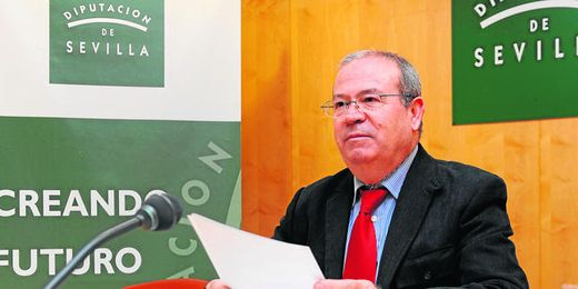 Manuel Domínguez, portavoz de Gobierno de la Diputación de Sevilla