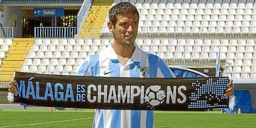 Roque Santa Cruz firma por el Málaga por 3 temporadas