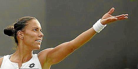 La tenista sevillana, Estrella Cabeza