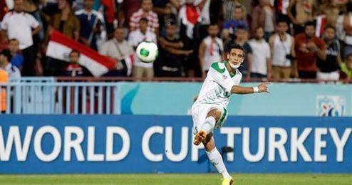Ali Adnan, durante el Mundial