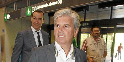 Miguel Guillén, presidente del Betis.