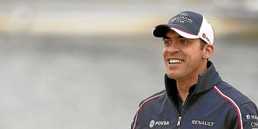 Pastor Maldonado, piloto de Williams.