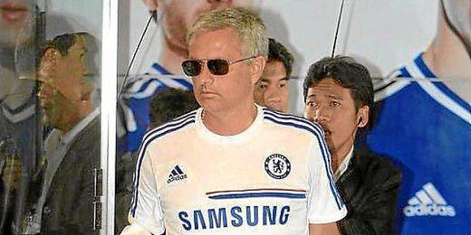 José Mourinho, durante la pretemporada con el Chelsea.