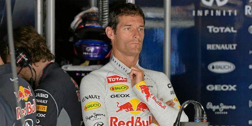 Webber ha explotado contra Red Bull por los fallos en su monoplaza.