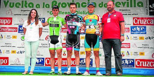 Zurita, Sánchez y López-Cózar, vencedores de la Vuelta a la Provincia.