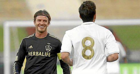 El exfutbolista inglés, David Beckham