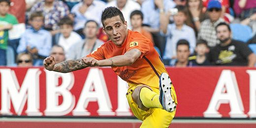 Cristian Tello se perderá el partido del próximo viernes en el Camp Nou.
