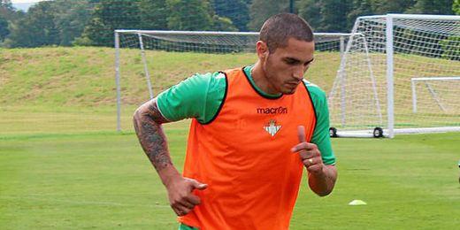 Braian Rodríguez podría volver a entrenar mañana.