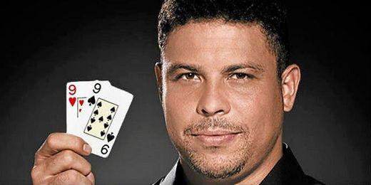 Ronaldo se une a la moda de Jugar al poker por Internet.