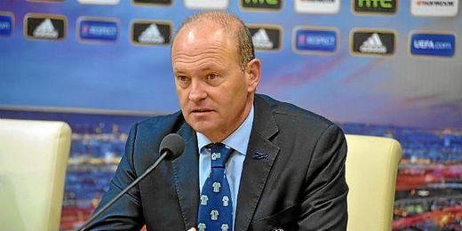 Pepe Mel, en sala de prensa tras el empata a uno ante el Rijeka.