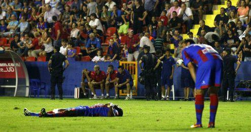 Desolación levantinista ante el 2-3 de Cristiano Ronaldo el pasado sábado