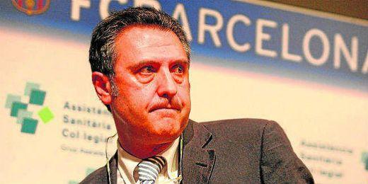 El Doctor Cáceres ha tratado la lesión de Rubén Castro.