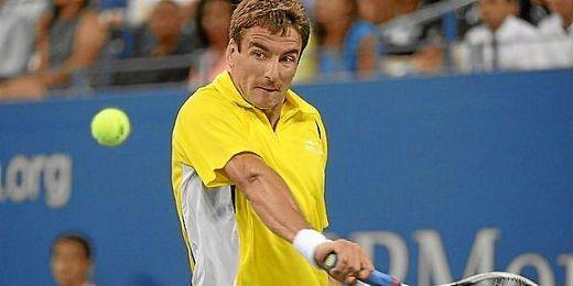 Robredo en el US Open.