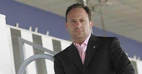 José Laparra, cuando era presidente del Castellón