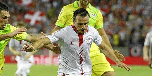 Piotr Trochowski ha sido el gran ´fichaje´ del Sevilla F.C.