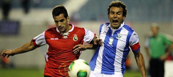 El Racing eliminó al Leganés en Tercera ronda.