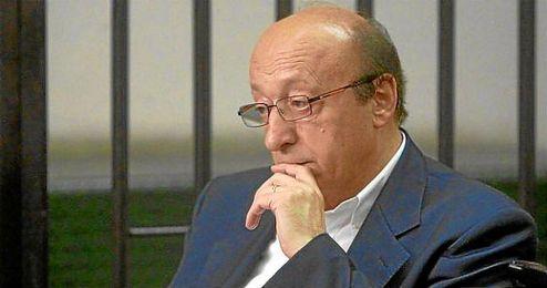 El exdirector general de la Juventus, Luciano Moggi.