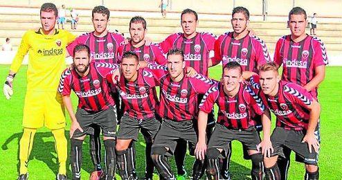 En la imagen, el once inicial del Cabecense que se enfrentó al Betis B en la segunda jornada de Liga.