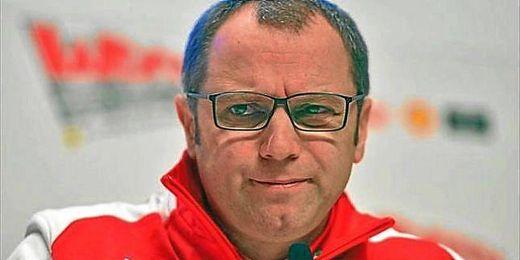 Stefano Domenicali, director de la escudería Ferrari.
