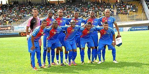 En la imagen, la selección de Cabo Verde.