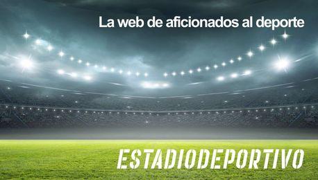 Emery y Navarro charlando durante un entrenamiento.