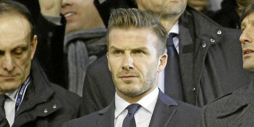 El hijo mayor de Beckham intenta entrar en la cantera del United